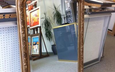 Restauration cadre miroir - Avant