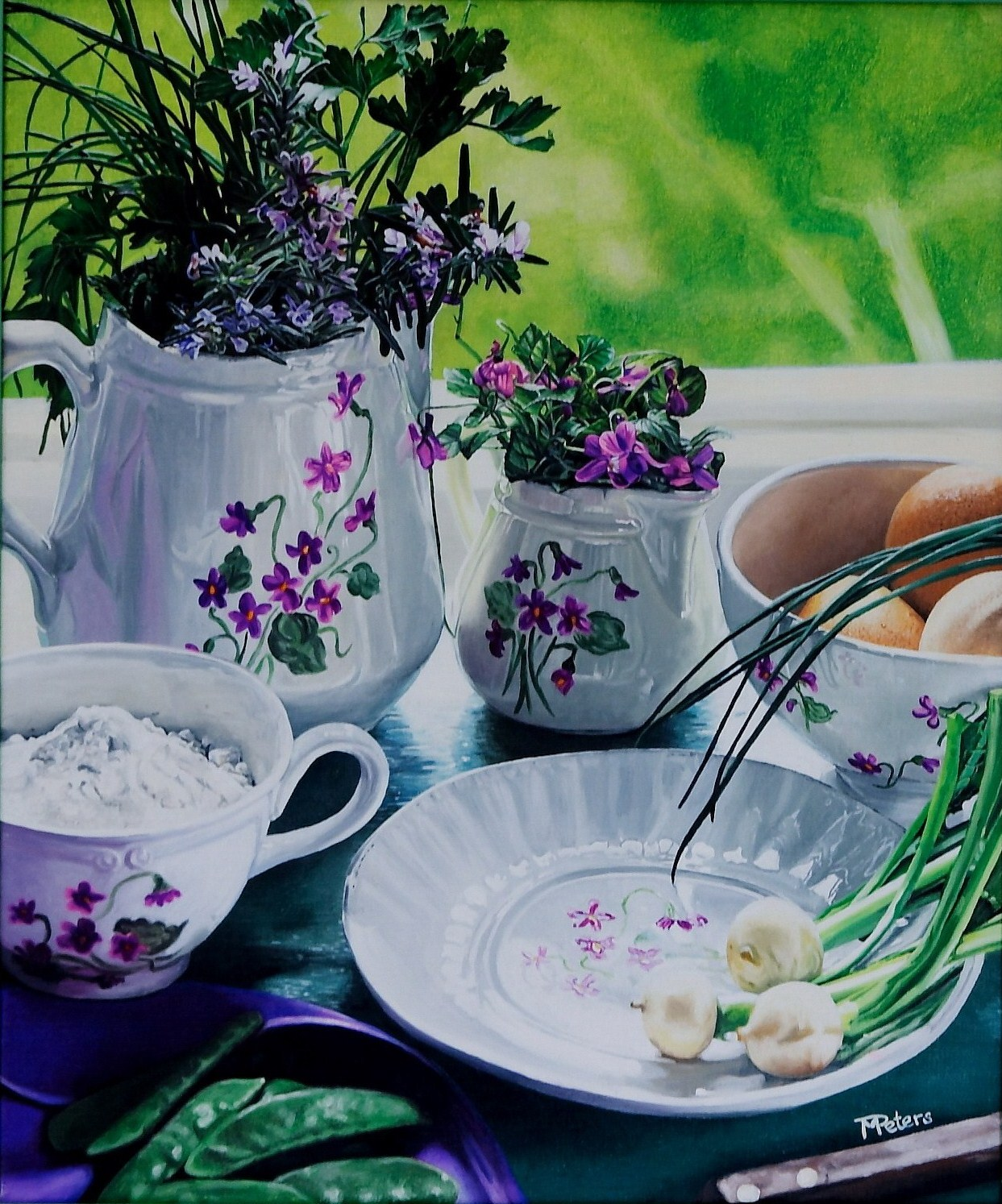 Atelier Audibert - Artiste Peintre - Miriam Peters